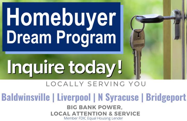 Seneca Savings Homebuyer Dream Program first time home buyer federal grant program