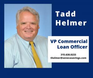 Tadd Helmer Commercial Loan Officer