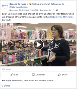 baldwinsville christmas bureau seneca savings facebook