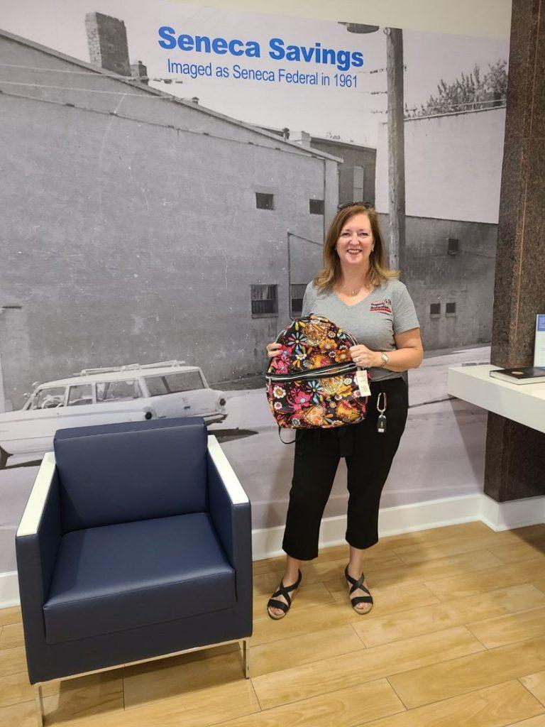 seneca savings backpack drive for back to school