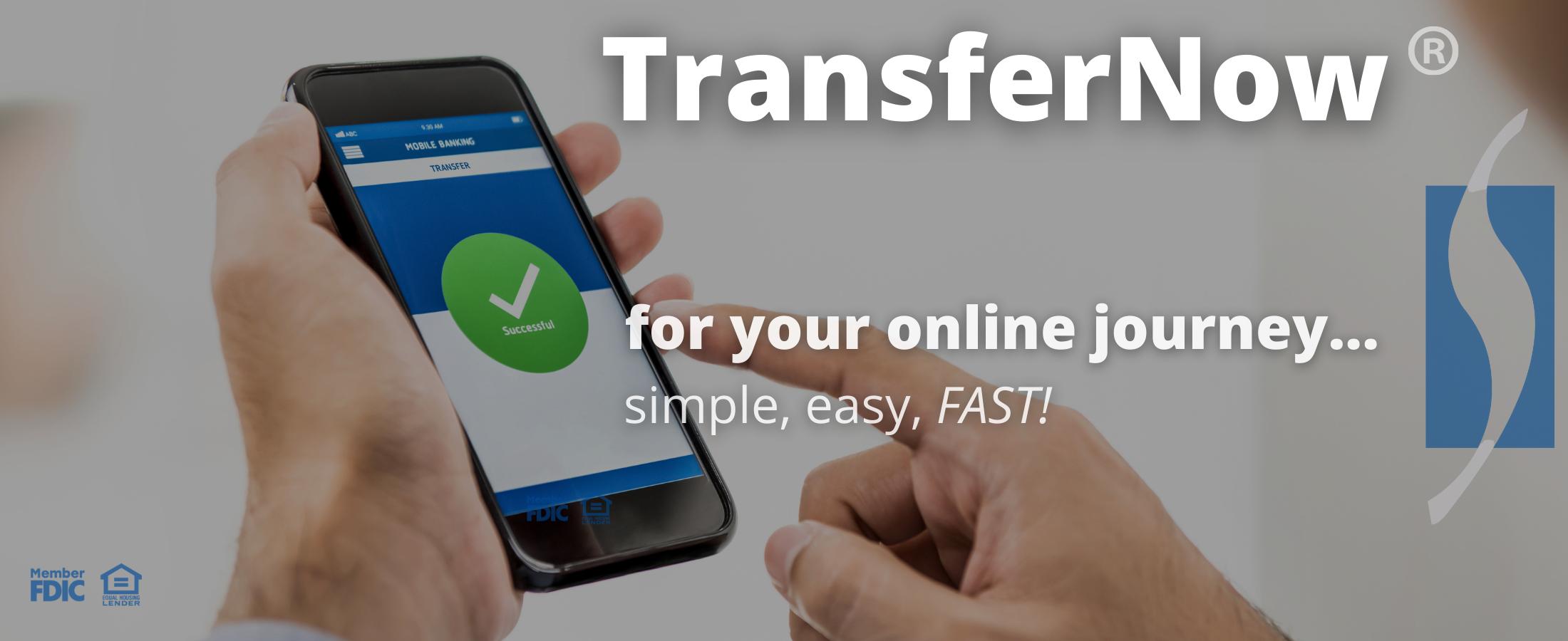 transfernow online digital banking innovation with seneca savings